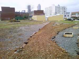 Photo by Jenny Pittam, Artichoke Bliss Urban Garden in Atlanta